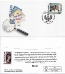 Souvenir Cachet Distinguished Philatelist